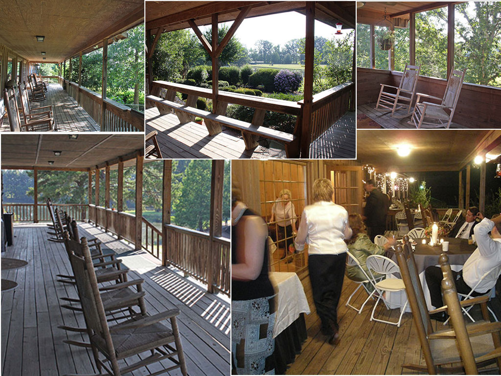 Relaxing Wraparound Porches