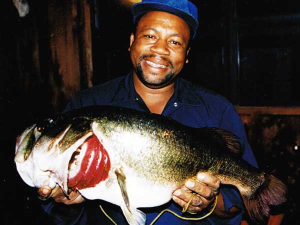 Now that's a big bass!