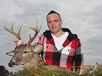 Stephen Monfiletto The last buck of the year  February 8, 2020